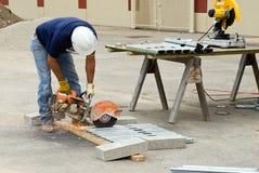 Goujons en métal de Sawing de main Photo libre de droits
