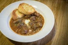 Goulash βόειου κρέατος αργή κουζίνα Στοκ Εικόνες