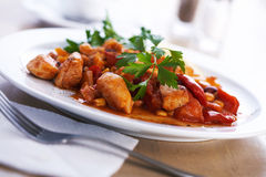 Goulash. Royalty Free Stock Photos
