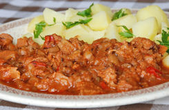 Goulash Royalty Free Stock Image