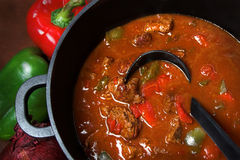 Goulash Beef stew Royalty Free Stock Photo