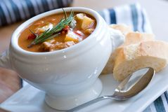 Goulash in a bowl Stock Photography
