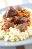 Goulash with bulgur Royalty Free Stock Photo