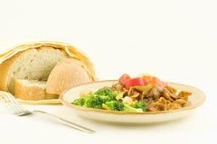 Goulash de carne - sobras Fotos de Stock