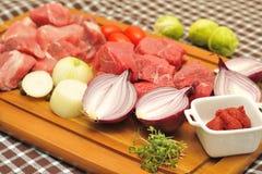 Goulash Ingredients Royalty Free Stock Image