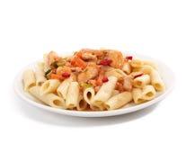 Goulash and macaroni Royalty Free Stock Image