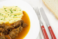 Goulash meal Stock Photography