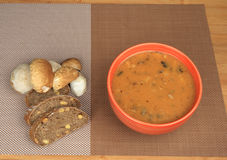 Goulash mushrooms Stock Images