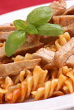 goulash noodle organic pork στοκ εικόνες