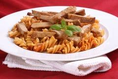 goulash noodle organic pork στοκ εικόνα