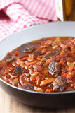 Goulash with pepper Stock Image