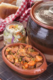 Goulash or pork stew Royalty Free Stock Photo