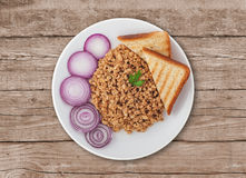 Goulash with red onion Stock Image