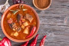 Hungarian goulash top stock photos