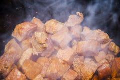 Goulash in the saucepan Stock Image