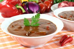 Goulash soup Stock Photography