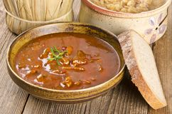 Goulash soup Stock Photos