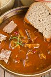 Goulash soup Royalty Free Stock Photo