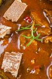 Goulash soup Stock Image