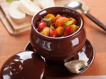 Goulash soup Stock Photography