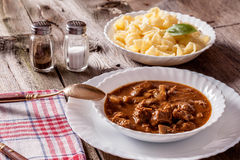 Goulash soup. Stock Photo