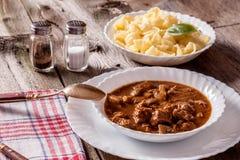 Goulash soup. Stock Photo