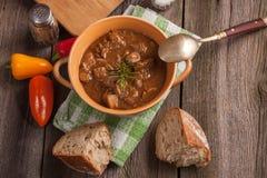 Goulash soup. Royalty Free Stock Photos