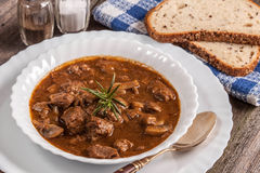Goulash soup. Royalty Free Stock Image