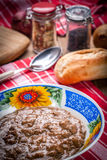 Goulash soup. Royalty Free Stock Photo