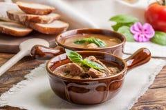 Goulash soup. Royalty Free Stock Photo