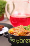 Goulash stew with vegetables Stock Photos