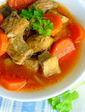 Goulash with vegetables Royalty Free Stock Photos
