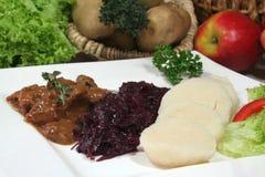 goulash venison Στοκ εικόνες με δικαίωμα ελεύθερης χρήσης
