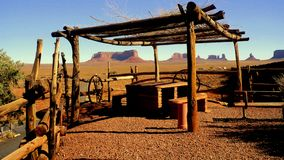 Goulding`s Trading Post Monument Valley stock photography