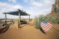 Gouldings-Handelsstation, Monument-Tal, Utah Lizenzfreie Stockfotos