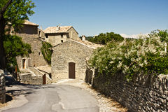 Goult, France. The ancient village of Goult, France in the spring royalty free stock images