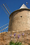 Goults Jerusalem Windmill Arkivfoto