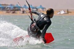 gouna EL kitesurf Στοκ φωτογραφία με δικαίωμα ελεύθερης χρήσης