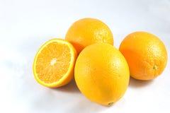 Goup van sinaasappel stock afbeelding