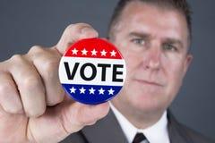 Goupille de vote Photographie stock libre de droits