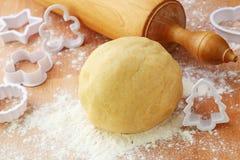 Goupille et pâtisserie de pâte brisée Photo libre de droits