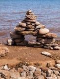 Gourbet, endroit célèbre, symbole de Canada photographie stock libre de droits