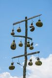 Gourd Bird Houses Royalty Free Stock Images