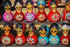 Gourd dolls Stock Photos