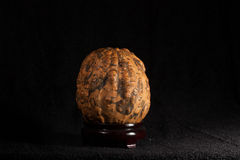 China art - A gourd with Maitreya relief on it Stock Photography