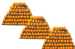 Gourd Pyramid Stock Photos