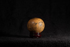 China art - A gourd with relief on it  Stock Image