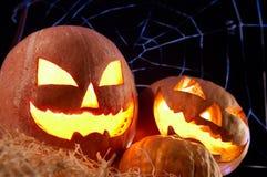 Gourds de Halloween imagens de stock