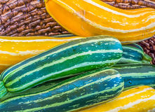 Gourds for Sale. The fall harvest on the Saanich Peninsula, Vancouver Island brings us many kinds and colours of gourds royalty free stock photo