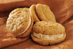 Gouremt peanut butter cookies Royalty Free Stock Photography